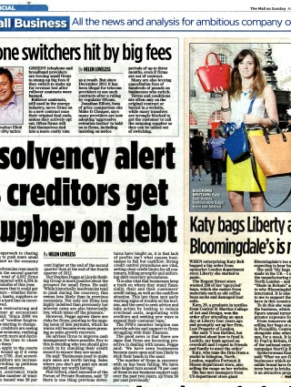 Mail on Sunday Aug 13